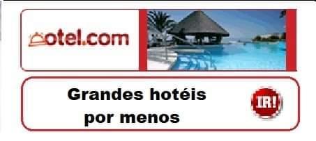 Grandes hoteis por menos